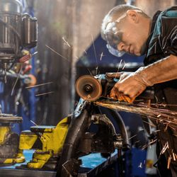 Manutenção de maquinas pesadas