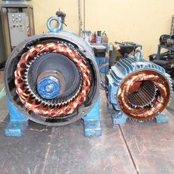 Manutenção de motor de passo