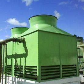 Manutenção preventiva de torres de resfriamento