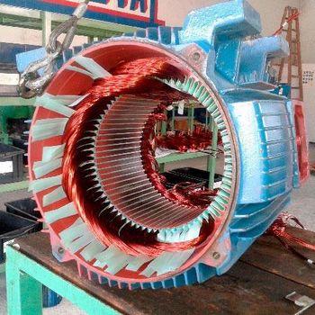 Empresa de rebobinamento de motores elétricos