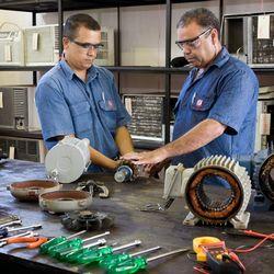 Reparo de motores hidráulicos