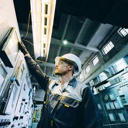 Manutenção elétrica industrial