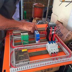 Manutenção corretiva elétrica