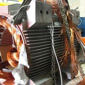 Rebobinamento de motores elétricos